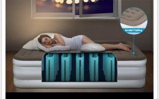 Как выбрать качественный надувной матрас для сна?