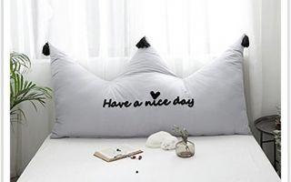 Подушки для кровати для спинки вместо изголовья