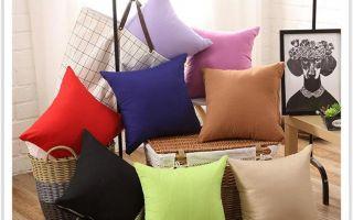 Популярные подушки из синтепона