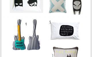 Что представляют сегодня  современные подушки для детей