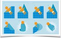 Как заворачивать правильно ребенка в одеяло
