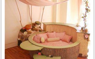 Практичные матрасы в детскую овальную кроватку