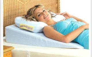 Ортопедическая профилактическая подушка для спины
