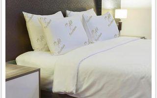 Бамбуковая экологичная подушка