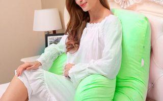 Как сшить своими руками подушку для беременной
