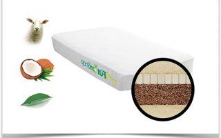 Комфортный сон в детской кроватке на кокосовом матрасе