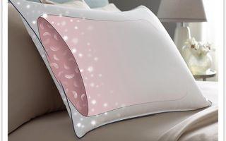 Особенности наполнителя в гипоаллергенных подушках