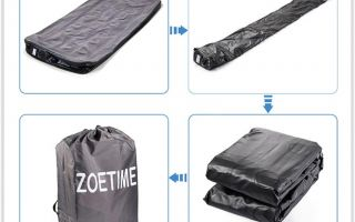Три способа сдувания надувного матраса