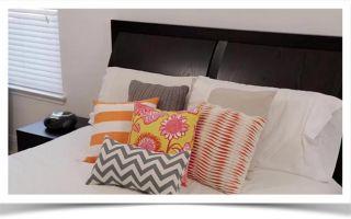 Простой способ сшить на подушки красивые декоративные наволочки
