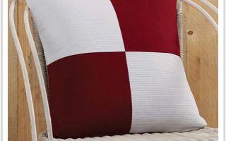 Как просто сшить подушку своими руками в стиле пэчворк
