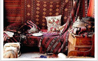 Подушки для интерьера в восточном стиле