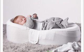 Матрас-кокон для правильного развития новорожденных