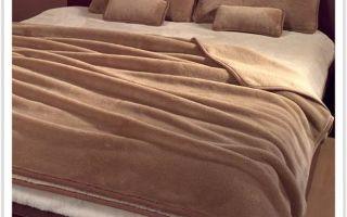 Можно ли стирать одеяла из верблюжьей шерсти?