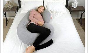 Зачем для сна нужна подушка для беременных