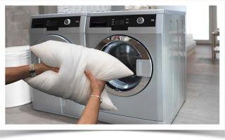 Как постирать подушку перьевую в домашних условиях