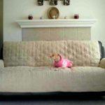 Фото покрывало на диване 10
