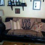 Фото покрывало на диване 25