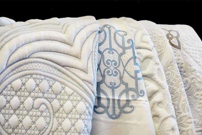 Варианты ткани для наматрасника