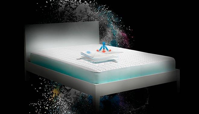 Размеры наматрасников на кровать