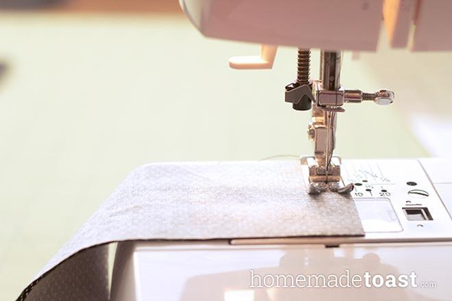 Сшивание боковин
