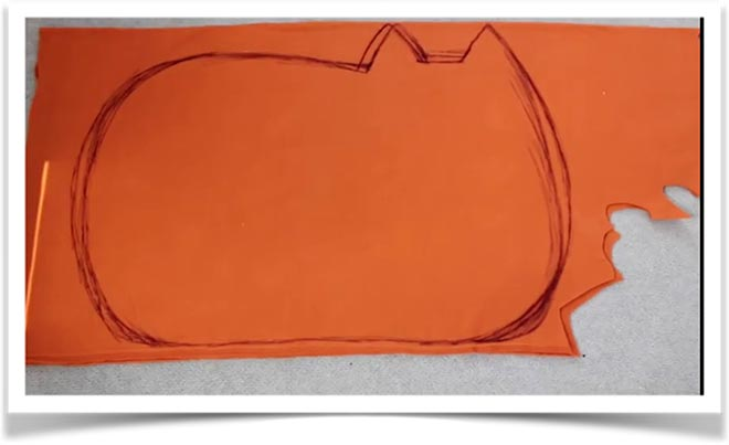 Кот подушка своими руками 1