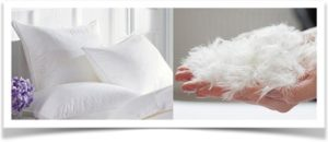Пуховые подушки и наполнитель