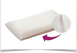 Чехол для подушки на молнии