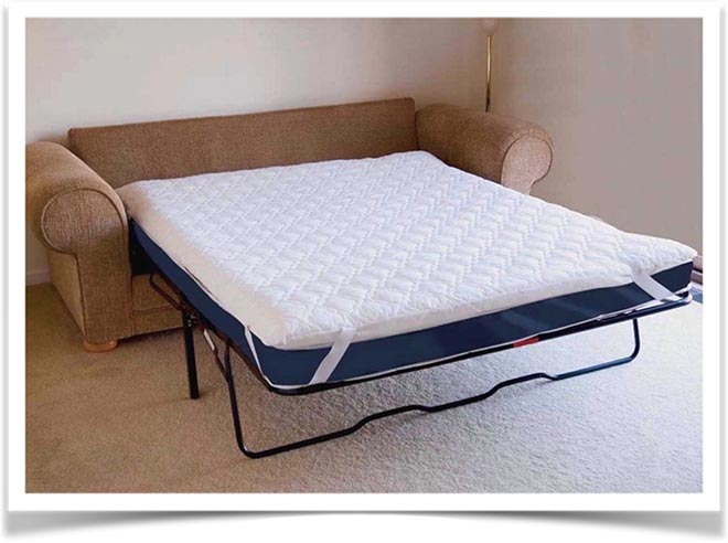 Тонкий матрас на раскладном диване