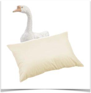 Подушка с гусиным пухом