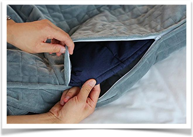 Утеплитель внутри одеяла