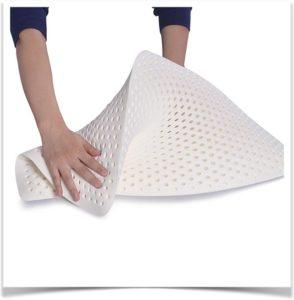 Как можно согнуть подушку из латекса