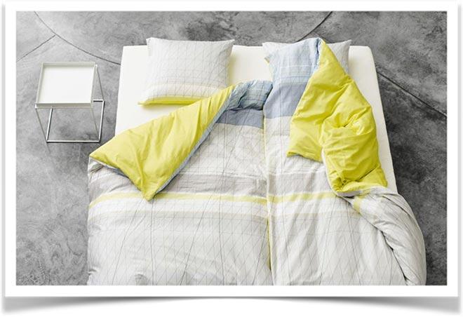 Постельное белье с двумя одеялами