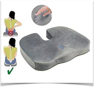 Как работает подушка для копчика