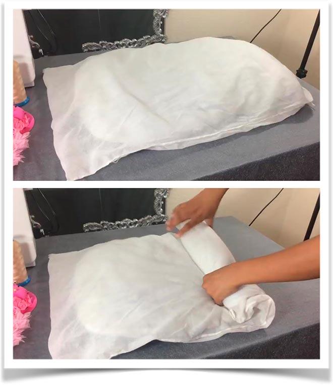 Подушка-валик своими руками 1
