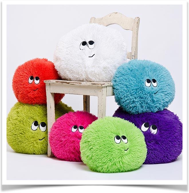 Подушка антистресс разных цветов