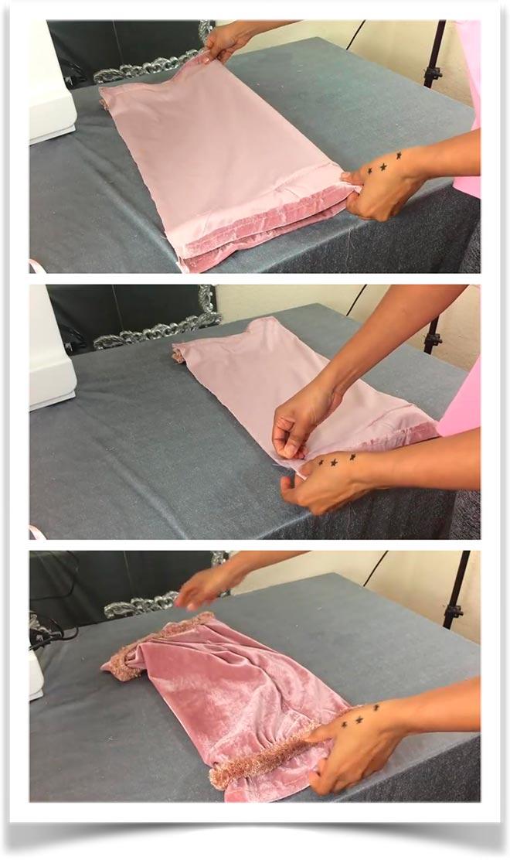 Подушка-валик своими руками 7