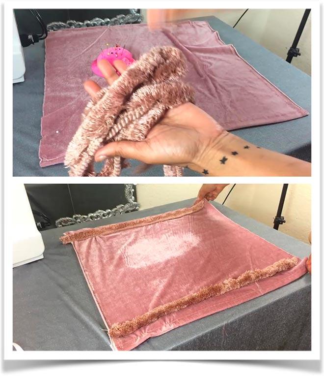 Подушка-валик своими руками 6