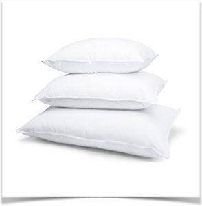 Три подушки в стопке
