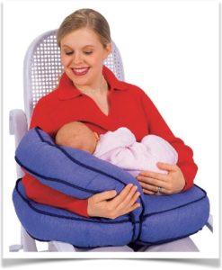 Удобная подушка для кормления