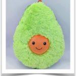 Зеленая груша подушка антистресс