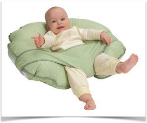 Круглая подушка для кормления