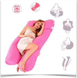 Способы применения подушки для беременной u образной формы
