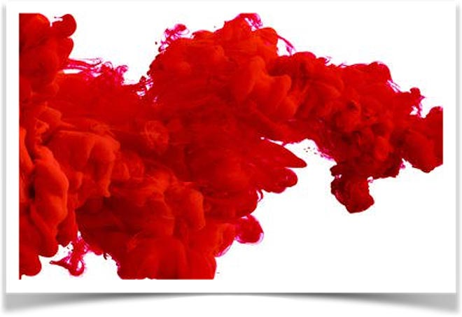 Красное пятно
