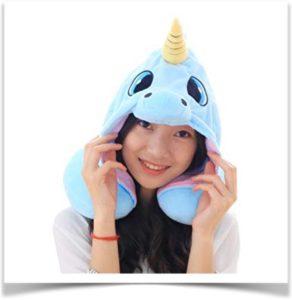 Детская подушка шлем