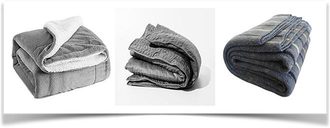 Виды одеял: меховые, цельнотканные, стеганные