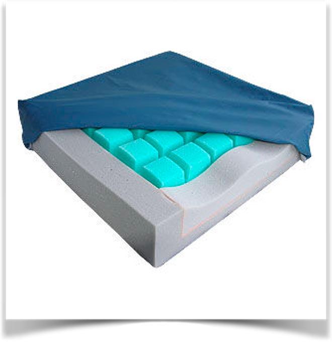 Чехол на противопролежневой подушке