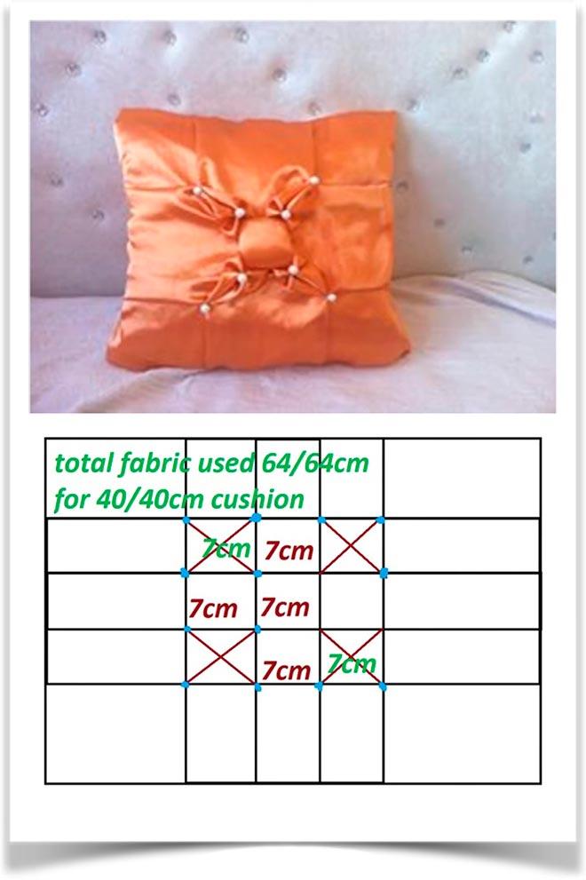 Выкройка подушки 6