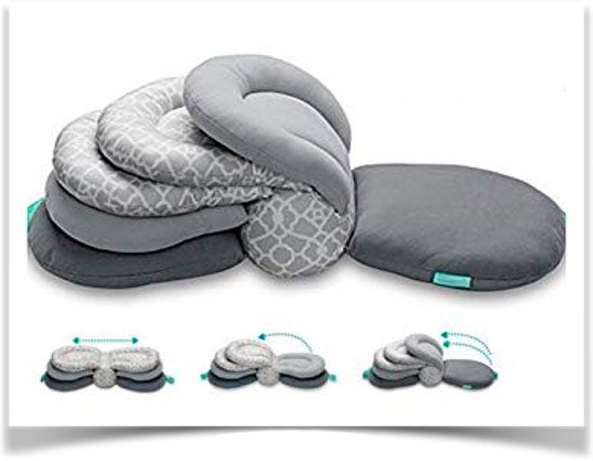 Складная подушка для кормления