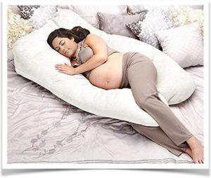 Подушка Big с девушкой в кровати
