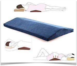 Три способа применения подушки под спину